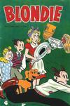 Cover for Blondie (Åhlén & Åkerlunds, 1956 series) #7/1957