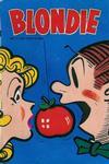 Cover for Blondie (Åhlén & Åkerlunds, 1956 series) #17/1957