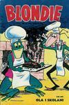 Cover for Blondie (Åhlén & Åkerlunds, 1956 series) #18/1957
