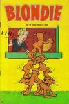 Cover for Blondie (Åhlén & Åkerlunds, 1956 series) #19/1958