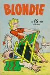 Cover for Blondie (Åhlén & Åkerlunds, 1956 series) #16/1959