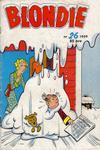 Cover for Blondie (Åhlén & Åkerlunds, 1956 series) #26/1959