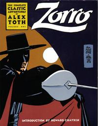 Cover Thumbnail for Zorro: The Complete Classic Adventures by Alex Toth (Eclipse, 1988 series) #1