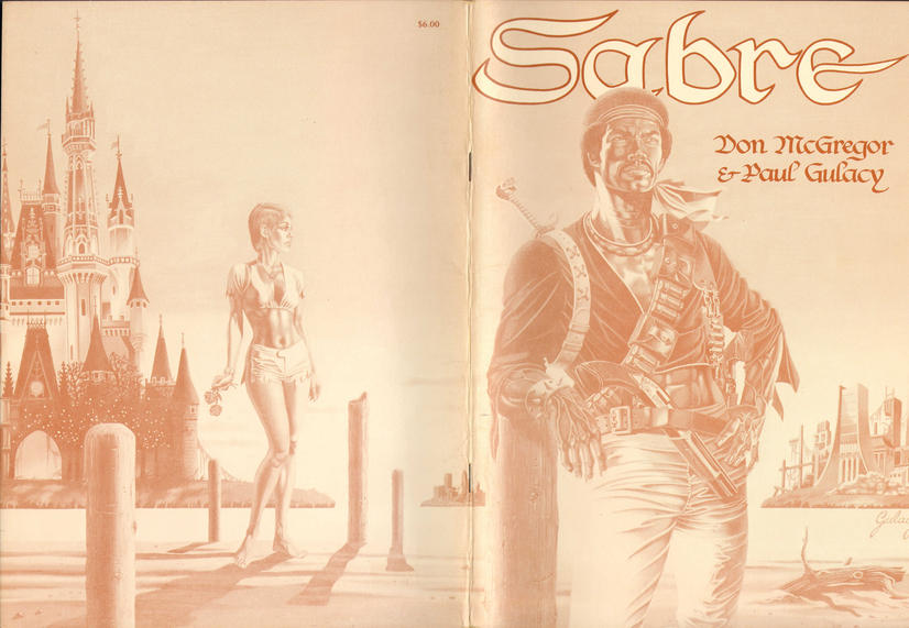Cover for Sabre (Eclipse, 1978 series) #[nn]