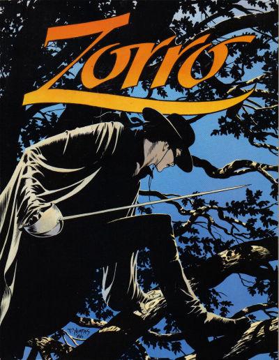 Cover for Zorro in Old California (Eclipse, 1986 series)