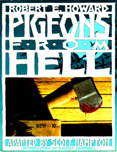 Cover for Pigeons from Hell (Eclipse, 1988 series)