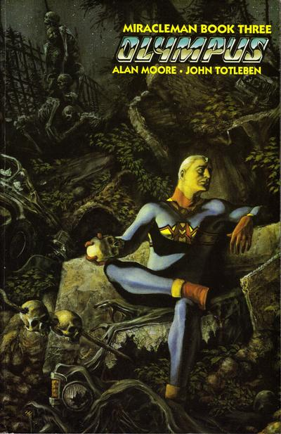 Cover for Miracleman (Eclipse, 1988 series) #3 - Olympus