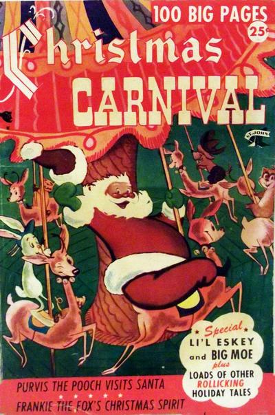 Cover for Christmas Carnival (St. John, 1955 series) #2