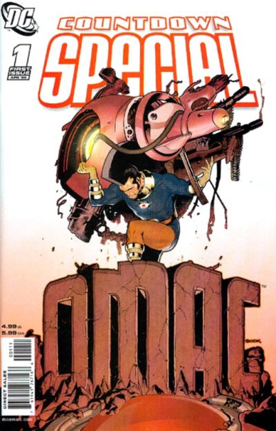 Cover for Countdown Special: OMAC (DC, 2008 series) #1