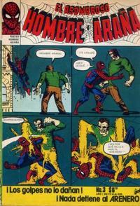 Cover Thumbnail for El Asombroso Hombre Araña (Novedades, 1980 series) #3