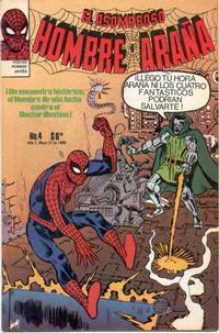 Cover Thumbnail for El Asombroso Hombre Araña (Novedades, 1980 series) #4