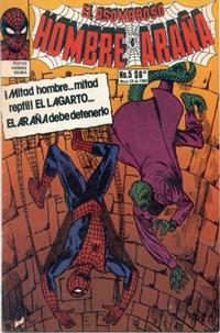 Cover Thumbnail for El Asombroso Hombre Araña (Novedades, 1980 series) #5