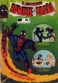 Cover Thumbnail for El Asombroso Hombre Araña (Novedades, 1980 series) #7