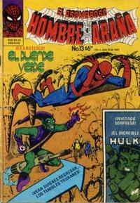 Cover Thumbnail for El Asombroso Hombre Araña (Novedades, 1980 series) #13