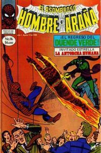Cover Thumbnail for El Asombroso Hombre Araña (Novedades, 1980 series) #16