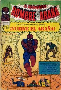 Cover Thumbnail for El Asombroso Hombre Araña (Novedades, 1980 series) #18