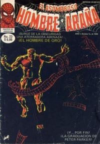 Cover Thumbnail for El Asombroso Hombre Araña (Novedades, 1980 series) #23