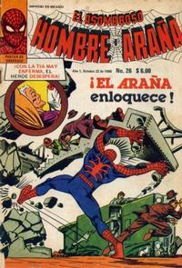 Cover Thumbnail for El Asombroso Hombre Araña (Novedades, 1980 series) #26