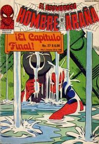 Cover Thumbnail for El Asombroso Hombre Araña (Novedades, 1980 series) #27