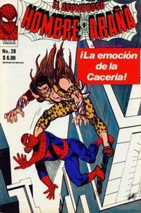 Cover Thumbnail for El Asombroso Hombre Araña (Novedades, 1980 series) #28