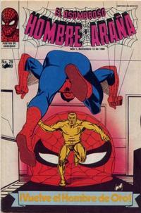 Cover Thumbnail for El Asombroso Hombre Araña (Novedades, 1980 series) #29