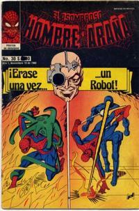 Cover Thumbnail for El Asombroso Hombre Araña (Novedades, 1980 series) #30