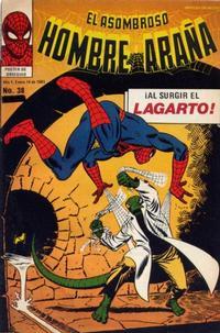 Cover Thumbnail for El Asombroso Hombre Araña (Novedades, 1980 series) #38