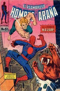 Cover Thumbnail for El Asombroso Hombre Araña (Novedades, 1980 series) #51
