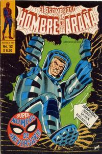 Cover Thumbnail for El Asombroso Hombre Araña (Novedades, 1980 series) #52