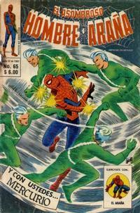 Cover Thumbnail for El Asombroso Hombre Araña (Novedades, 1980 series) #65