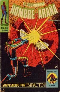 Cover Thumbnail for El Asombroso Hombre Araña (Novedades, 1980 series) #66