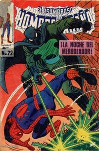 Cover Thumbnail for El Asombroso Hombre Araña (Novedades, 1980 series) #72