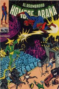 Cover Thumbnail for El Asombroso Hombre Araña (Novedades, 1980 series) #76