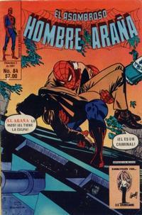 Cover Thumbnail for El Asombroso Hombre Araña (Novedades, 1980 series) #84