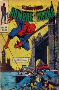 Cover Thumbnail for El Asombroso Hombre Araña (Novedades, 1980 series) #89