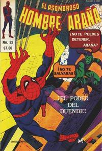 Cover Thumbnail for El Asombroso Hombre Araña (Novedades, 1980 series) #92