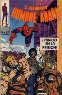 Cover Thumbnail for El Asombroso Hombre Araña (Novedades, 1980 series) #93