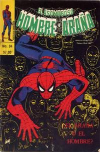 Cover Thumbnail for El Asombroso Hombre Araña (Novedades, 1980 series) #94