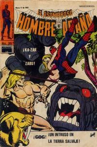 Cover Thumbnail for El Asombroso Hombre Araña (Novedades, 1980 series) #99