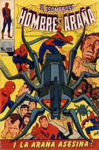 Cover Thumbnail for El Asombroso Hombre Araña (Novedades, 1980 series) #101