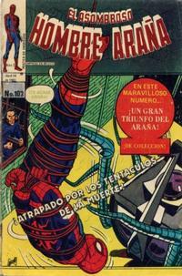 Cover Thumbnail for El Asombroso Hombre Araña (Novedades, 1980 series) #103