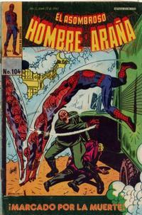 Cover Thumbnail for El Asombroso Hombre Araña (Novedades, 1980 series) #104