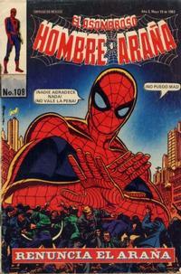 Cover Thumbnail for El Asombroso Hombre Araña (Novedades, 1980 series) #108