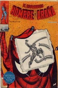 Cover Thumbnail for El Asombroso Hombre Araña (Novedades, 1980 series) #109