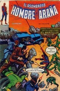 Cover Thumbnail for El Asombroso Hombre Araña (Novedades, 1980 series) #110