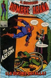 Cover Thumbnail for El Asombroso Hombre Araña (Novedades, 1980 series) #111