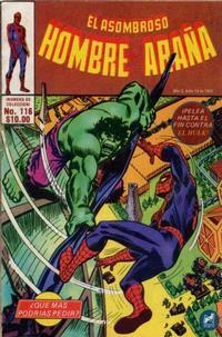 Cover Thumbnail for El Asombroso Hombre Araña (Novedades, 1980 series) #116