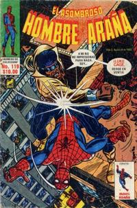 Cover Thumbnail for El Asombroso Hombre Araña (Novedades, 1980 series) #119
