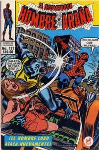 Cover Thumbnail for El Asombroso Hombre Araña (Novedades, 1980 series) #121