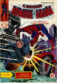 Cover Thumbnail for El Asombroso Hombre Araña (Novedades, 1980 series) #126